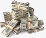 bundle of money image - shutterstock_132159902