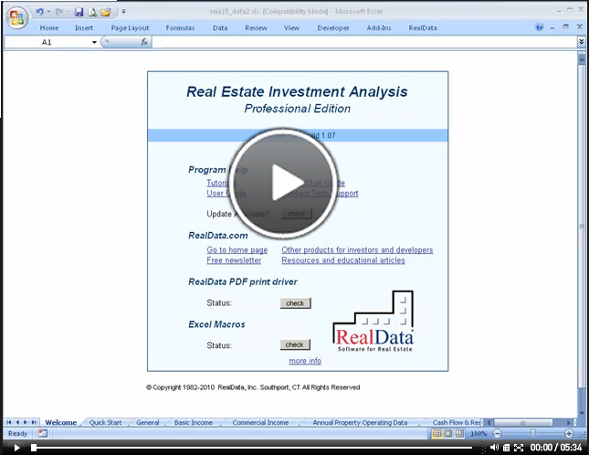 Commercial Income Rollover Wizard - video