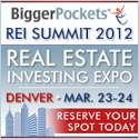 Bigger Pockets Real Estate Investing Summit and Expo, March 2012